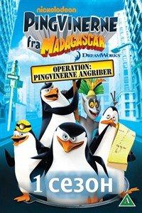 Пінгвіни Мадагаскару (1 сезон)